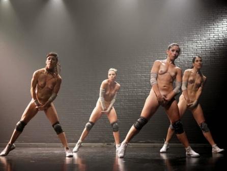 "Quatro bailarinas argentinas no ""La Wagner"" (Argentina)"